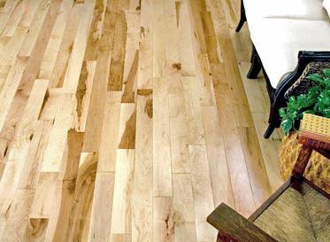 3 4 x 4 1 4 millrun maple builder 39 s pride lumber for Builders pride flooring installation