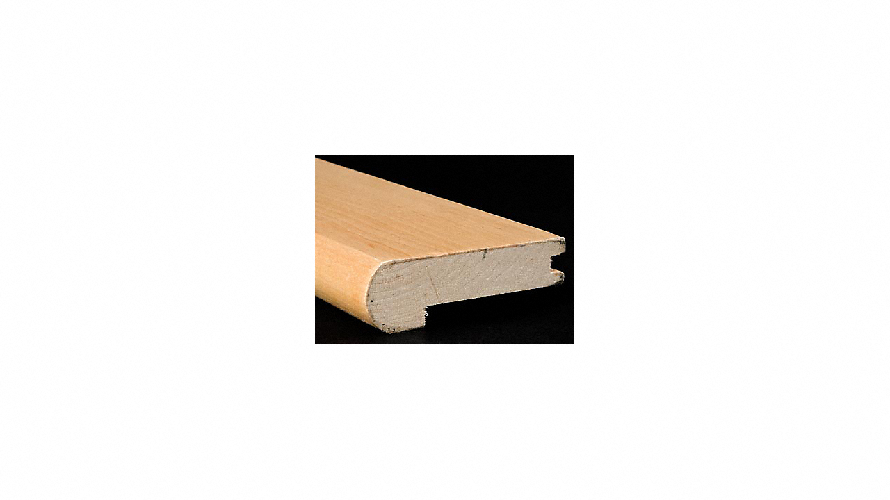 """3/4"""" x 3 1/4"""" x 6.5 LFT Maple Stair Nose"""