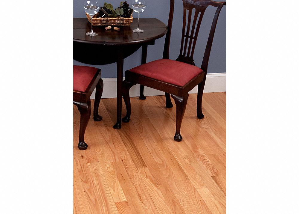 3 4 x 3 red oak flooring builder 39 s pride lumber for Builders pride flooring installation