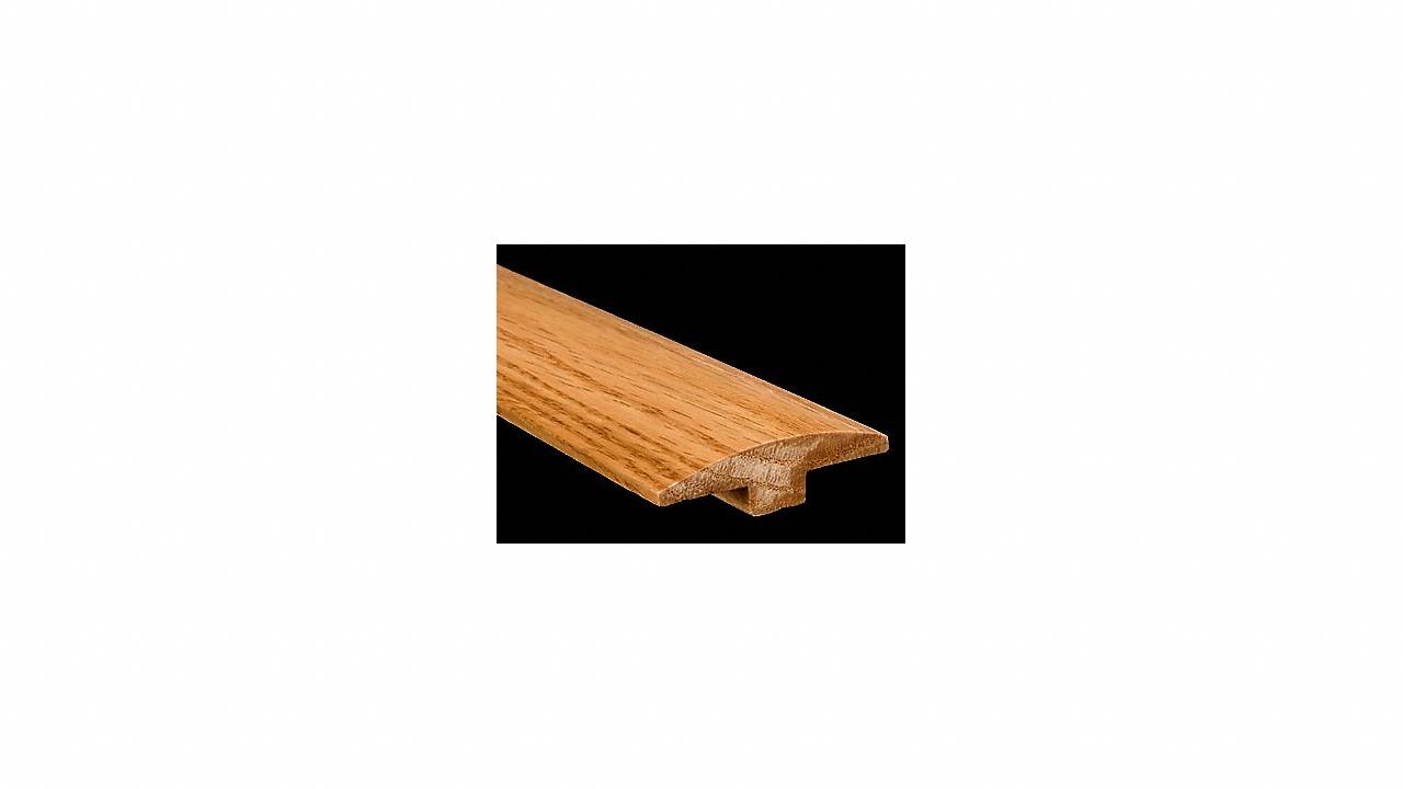 """5/8"""" x 2"""" x 6.5LFT Red Oak T-Molding"""