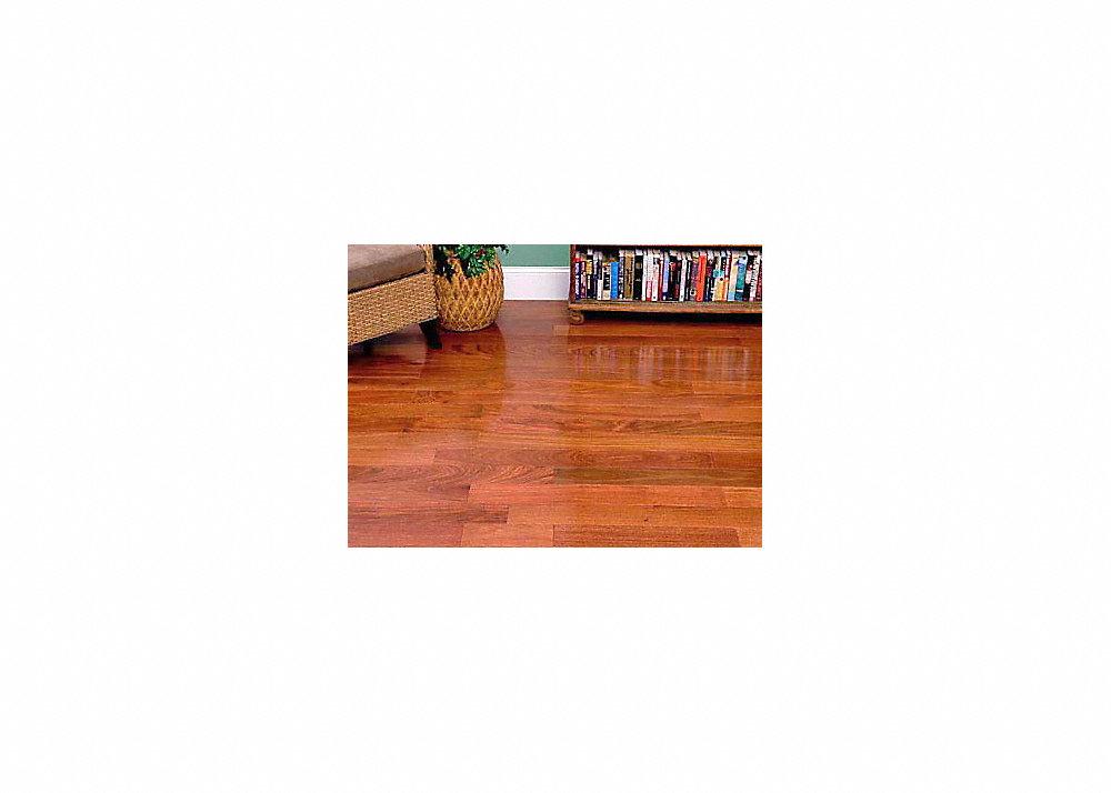 3 4 x 2 1 4 natural santos mahogany flooring builder 39 s for Builders pride flooring installation