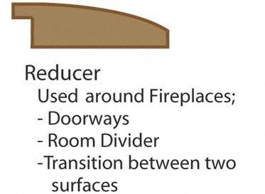 3 8 X 2 X 72 Burnt Umber Overlap Reducer Lumber Liquidators Flooring Co