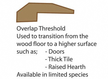 Prefinished Amber Oak Threshold
