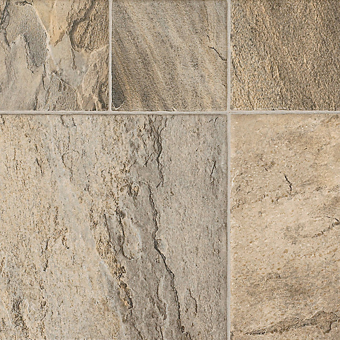 Major Brand 8mm Tuscan Stone Laminate Tile